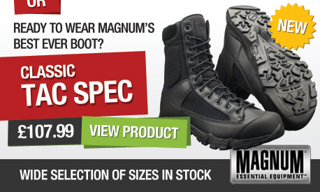 Try the new Tac Spec Boot!